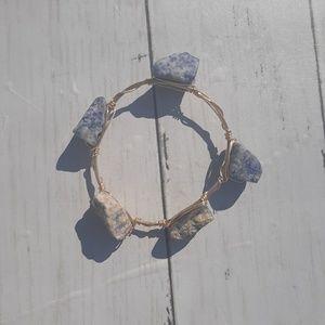 Jewelry - Blue Stone Bangle